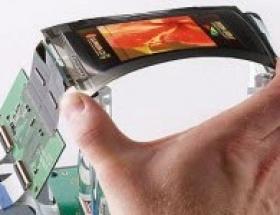 Ekranı bükülebilen telefon