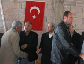Terörist evinde Türk bayrağı