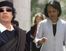 Kaddafinin ilgisi ürkütücüydü