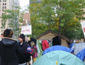 New Yorkta protestoculara müdahale