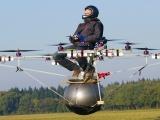 Geleceğin kişisel helikopteri E-volo