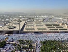 3 milyon hacı adayı Arafata çıktı