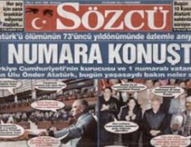 Sözcü Atatürkü Konuşturdu