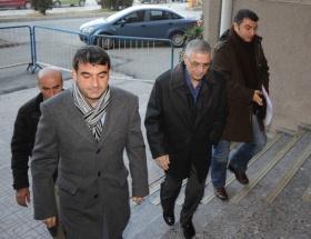 Mehmet Eymür Ankara Adliyesinde