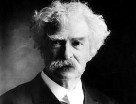 Googledan Mark Twain doodleı
