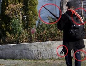 Bu adam avcı değil terörist !