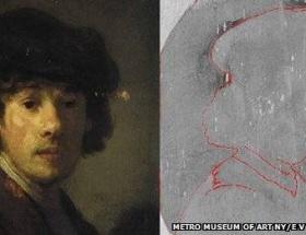Rembrandtın kayıp oto portresi bulundu