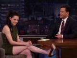 Kristen Stewarttan Bacak Şov