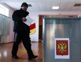 Rusya seçim için sandıkta