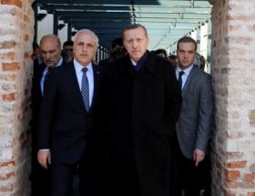 Erdoğan evinden ilk kez çıktı