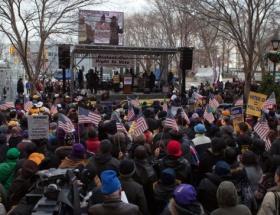 New Yorkta oy protestoları