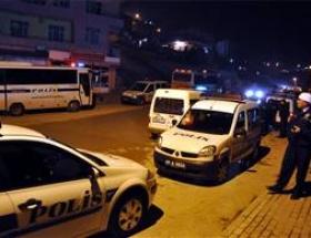 Polis aracına hain saldırı