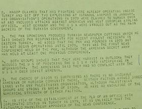 İşte PKK-ASALA işbirliğinin belgesi