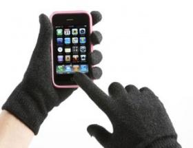 Dokunmatik cebe özel eldiven
