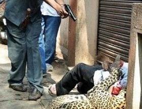 Adam yiyen leopara infaz