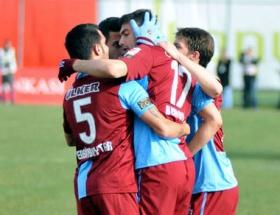 Trabzon kupada da fırtına gibi