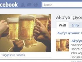 AKPye içiyoruz grubuna şok