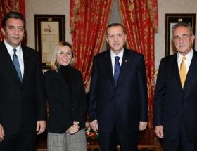 Erdoğan, Yücaoğlu ve Boyner ile görüştü