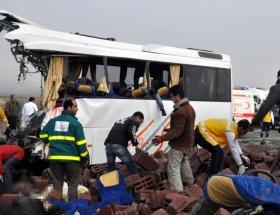Diyarbakır Bismilde katliam gibi kaza !