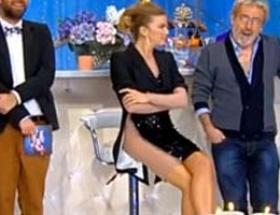 Ivana Sert ekrana çamaşırsız mı çıktı?