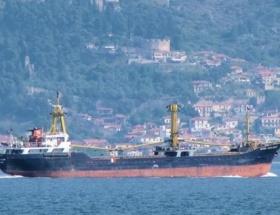 Türk bandıralı Doğu Haşlaman battı