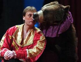 Sirk ayıları yanarak öldü