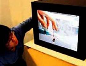 İçine girilebilen televizyon