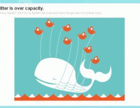 Twitter saniyede 16.000 mesaja dayanamadı