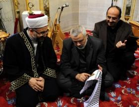 Filistin Başbakanı Haniye Ankarada