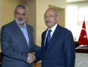 Kılıçdaroğlu Haniye ile görüştü
