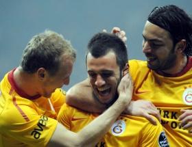 Galatasaray kaldığı yerden devam