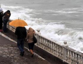 Marmara Denizinde poyraz fırtınası