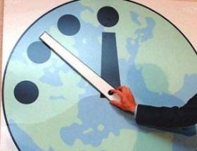 Dünya kıyamete 1 dakika daha yakın