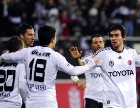 Beşiktaş bir üst turda