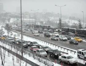 Kar yağışı 7 Şubata kadar devam edecek