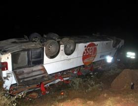 Ağrıda otobüs kazası: 4 ölü