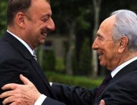 Peres ve Aliyeve şeytanlı mesaj
