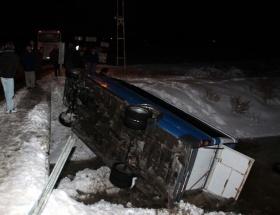 Çubukta trafik kazası: 14 yaralı