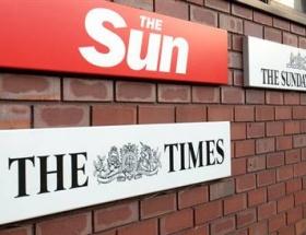 İngilterede Sun gazetesi çalışanları tepkili