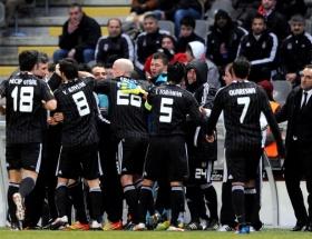 Beşiktaş kafilesi Madride geldi