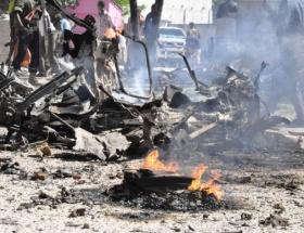 Mogadişuda patlama: 11 asker öldü
