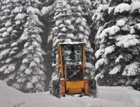 Ordu ve Giresunda kar yağışı