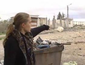 CNN yasak şehir Humusa girdi