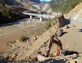 Barajda kaybolan işçinin ceseti bulundu