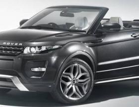 Üstü açık Range Rover