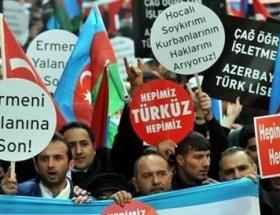 Şişlide Hocalı Katliamı protestosu