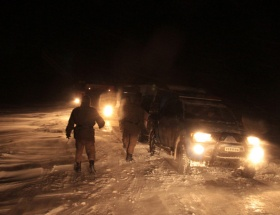 Çankırı-Ankara karayolu ulaşıma kapandı