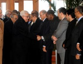 Filistin Devlet Başkanı Abbas TBMMde