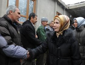 Emine Erdoğan Uluderede