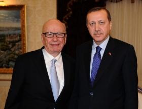 Erdoğan, Rupert Murdoch ile görüştü